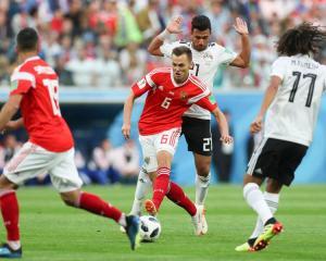 Сборная России победила Египет