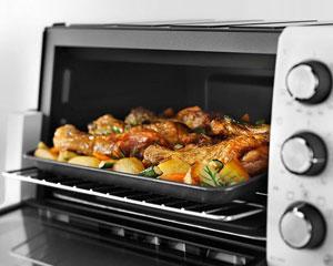 Приготовление еды в духовке