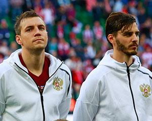 Дзюба и Ерохин