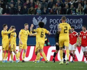 Сборная России проиграла Бельгии