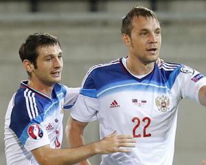Алан Дзагоев и Артем Дзюба
