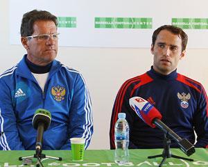 Фабио Капелло и Роман Широков