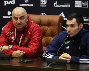 Станислав Черчесов и Вячеслав Караваев