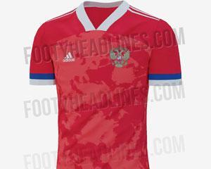 В сети появилось фото футболки сборной России на Евро-2020
