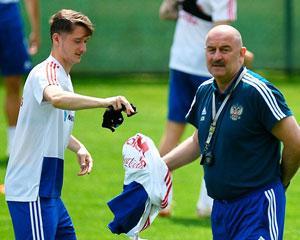 Миранчук и Черчесов