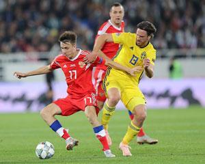 Матч Швеция - Россия