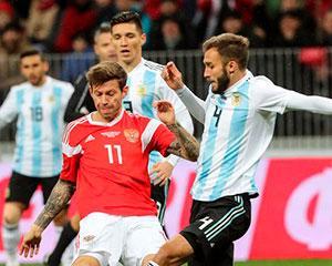 Россия - Аргентина. Видеообзор матча