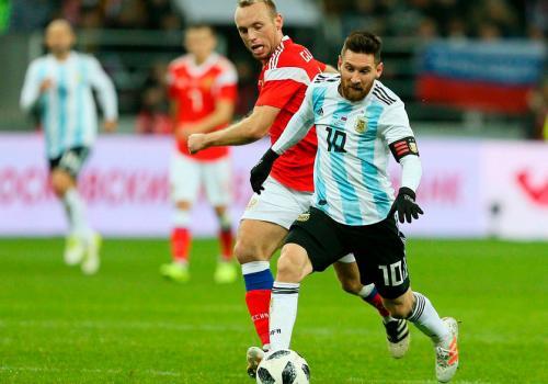 Сборная России проиграла Аргентине